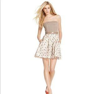 Rachel Roy Strapless Cotton Dress